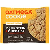 Oatmega Protein Cookie, Peanut Butter, 2.8 ounce, 12 Count