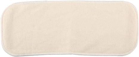 Furnoor Inserto de pañal de algodón de carbón de bambú Insertos de algodón de pañales de tela de bebé lavables - Insertar - Forros de bambú reutilizables: Amazon.es: Bebé