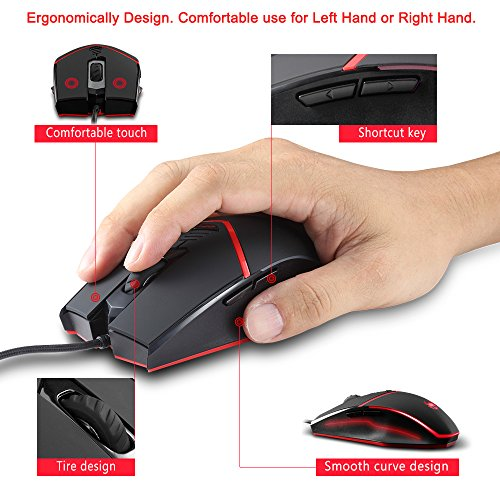 512CEizubOL - Gaming-Mouse-Wired-Programmable-Breathing-Light-3200-DPI-Weight-Tuning-Set-ZELOTES-PCComputer-Gamer-Mice-6-Buttons-for-Both-Hands-Black