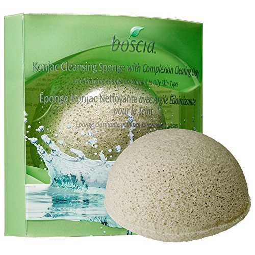 Boscia Cleansing Oil (boscia Konjac Cleansing Sponge With Complexion Clearing Clay)