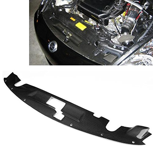 (Ships From USA Carbon Fiber Radiator Diffuser Cooling Panel Shroud Plate For NISSAN 350Z 2003-2009 )