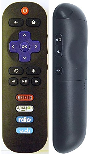 UBay RC280 Remote Control for TCL Roku TV 65US5800 55UP130 55FS3850 50FS3750 50UP130 50FS3800 49FP110 48FS3750 48FS4610R 43UP130 43FP110 40FS3750 40FS4610R 40FS3800 32S3750 32S3800 32S3850A 32S4610R