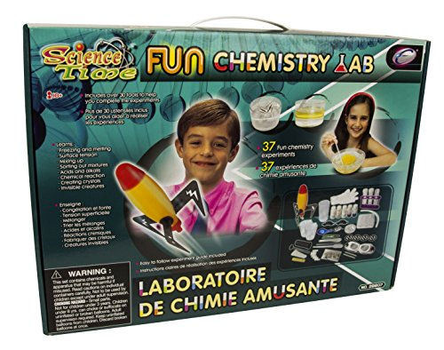 Science Time Fun Chemistry Lab STEM Interactive Multi-Experiment Kit For Kids (Science Car Rocket Kit)