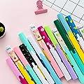 H-Honetuk 1 Pcs Mini Pen Scissors Creative Folding Small Shears Safe and Cute Portable Scissors for Children's Hand Tool