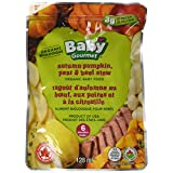 Baby Gourmet Autumn Pumpkin Pear and Beef Stew, Green, 128 Millilitre