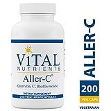 Vital Nutrients - Aller-C (Quercetin, Vitamin C, and Bioflavonoids) - Respiratory & Sinus Support - Gluten Free - 200 Capsules