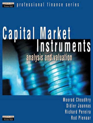 Capital Market Instruments: Analysis and Valuation