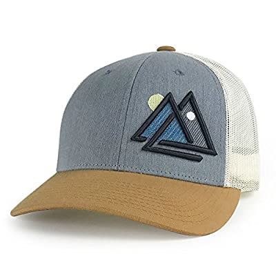 WUE Outdoors Day and Night Trucker Hat Mesh Cap