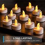 Vont LED Candles, Lasts 2X Longer, Realistic Tea