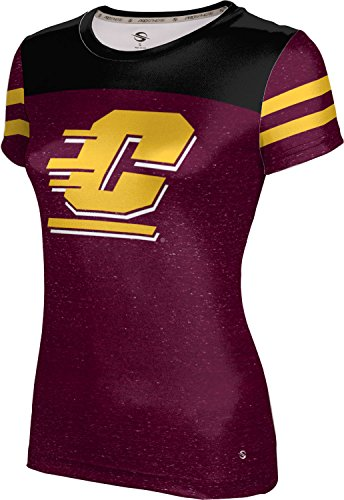 - ProSphere Central Michigan University Girls' Performance T-Shirt (Gameday) FD021 Maroon and Black