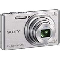 DSC-W730 Cyber-Shot Digital Camera, 16.1 MP, 8x Optical Zoom, Silver