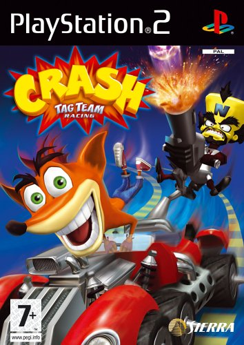 Crash Tag Team Racing (PS2) by Sierra UK (Bandicoot Racing Crash Team Tag)