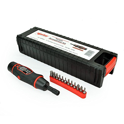 Torque Screwdriver Kit 1.2-6.0Nm 1/4in Hex