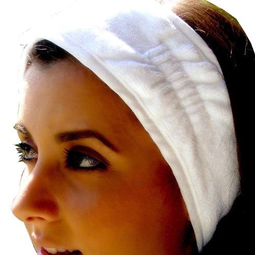 Terry Velour Headband with Nylon Fabric Closure - ()