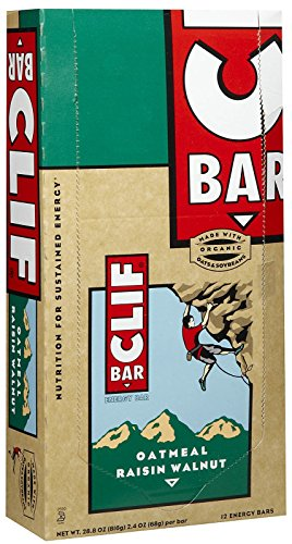 Clif Bar Energy Bars, Oatmeal Raisin Walnut, 12 ct