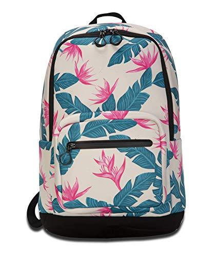- Hurley HU0064 Women's Print Neoprene Backpack, Crimson Tint - OS