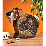 DecoBREEZE Dog Figurine Fan Two-Speed Electric Circulating Fan