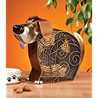 DecoBREEZE Table Fan Two-Speed Electric Circulating Fan, Dog Figurine Fan