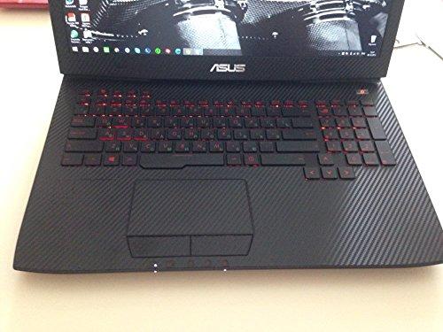 773ae45db9d5 Special Laptop Black Carbon fiber Vinyl Skin Stickes Cover Guard for ...