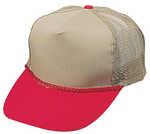 TGCM - Twill Mesh cap with 5 panels and Plastic Adjustable Snap Closure (TGCM 0219 - Kahi Kahi