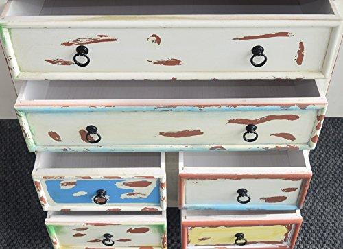 Mobile mobiletto cassettiera effetto usato design vintage saloto ...
