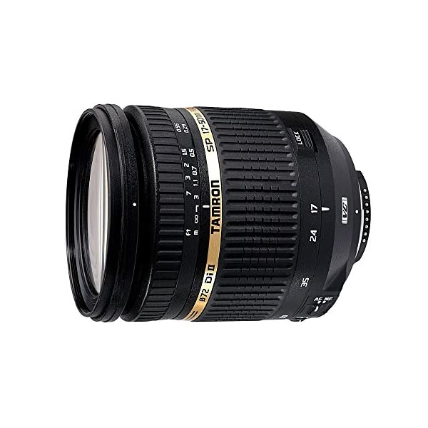 RetinaPix Tamron B005E SP AF 17-50mm F/2.8 Di II VC IF Aspherical Fast Zoom Lens with Hood for Canon DSLR Camera (Black)