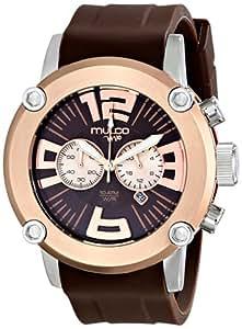 Mulco MW2-6263-033 - Reloj , correa de goma color marrón
