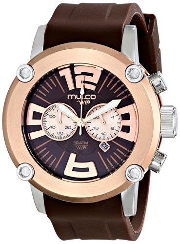MULCO Men's MW2-6263-033 Analog Display Japanese Quartz Brown Watch