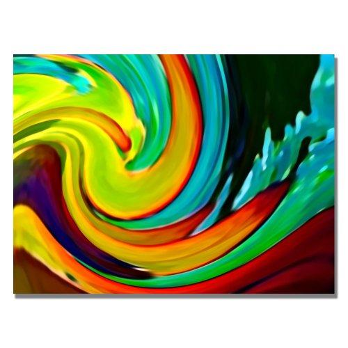 Crashing Wave by Amy Vangsgard, 24x32-Inch Canvas Wall Art