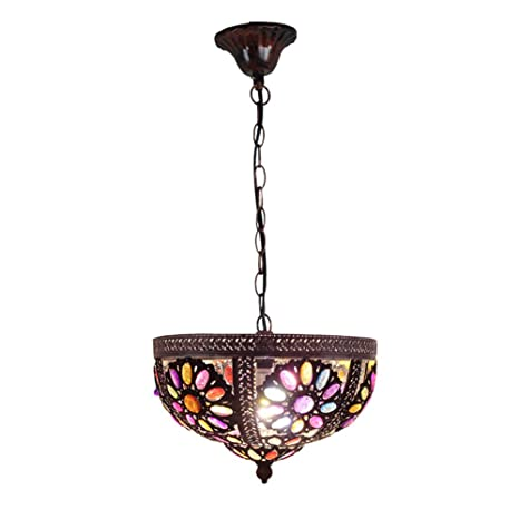 CCSUN Multicolor Lámpara de colgante Para Puerta de entrada ...