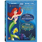 The Little Mermaid II and Ariel's Beginning 2-Movie Collection (Blu-ray + 2-Disc DVD)
