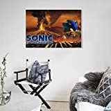 Sonic The Hedgehog Children's Animation Wall Art
