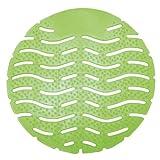 Wave Urinal Deodorizer Screen in Green