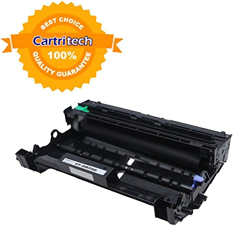 Laser Tek Services® 2 Pack Compatible Brother DR720 DR-720 Drum Units