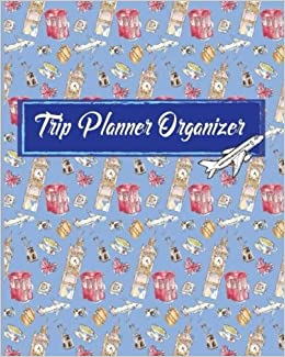 trip planner organizer vacation trip travel itinerary planner