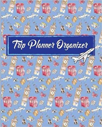 for Max Trip 21 Days 8 x 10 reservations flight booking Trip Planner Organizer: Vacation Trip Travel Itinerary Planner Journal Notebook Journey Detail including your hotel checklist Itinerary schedule activities budget Destination notes and more