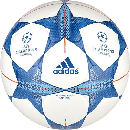 Finale 15 Capitano Soccer Ball, White/Medium Blue, Ball