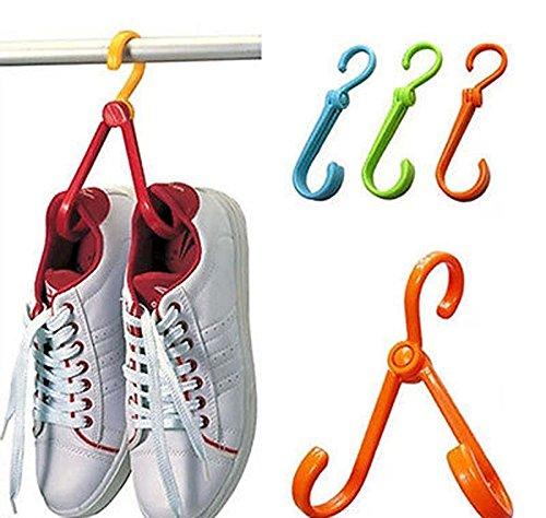 New 1P Multi-function Shoe Hanger Clothes Novetly Hook Stora