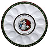 Portmeirion A Christmas Story 12-Inch Hors d'Oeuvres Egg Tray
