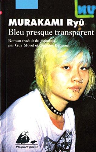 Bleu presque transparent