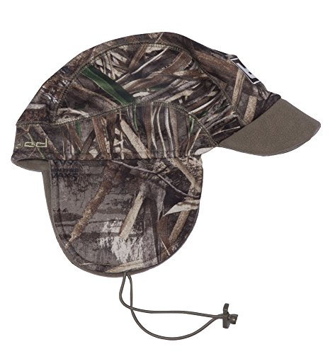 Banded Atchafalaya Shell Brimmed Beanie product image