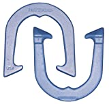 Imperial Professional Pitching Horseshoes- made in USA! (Blue- Single Pair (2 shoes))