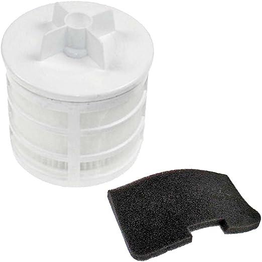 SPARES2GO Kit de filtros HEPA U66 tipo Pre y Post motor para ...