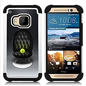 - Tennis Ball Altar - - Doble capa caja de la armadura Defender FOR HTC ONE M9 RetroCandy