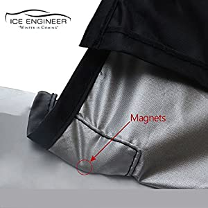 Windshield Cover for Snow Ice Sun for SUV Car Truck Premium Cover Set