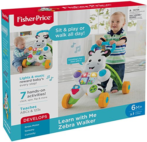 Fisher-Price Learn with Me Zebra Walker by Fisher-Price (Image #14)