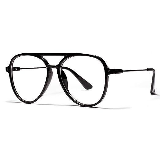 OVZA Fashion Big Glasses Frames Mens Transparent Eyeglasses Frames ...