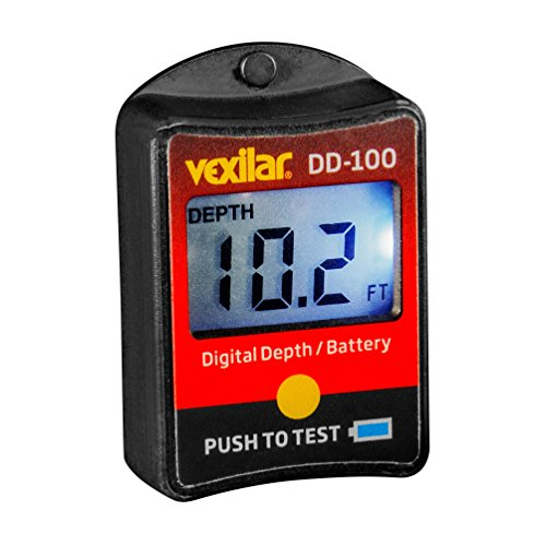 - Vexilar DD-100 Digital Depth and Battery Gauge