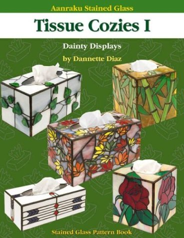 Aanraku Stained Glass Pattern Book Tissue Cozies 1