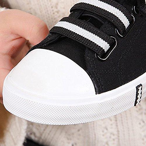 38 Black YaNanHome pigri Color scarpe Red Nuove tela primavera uomo da scarpe estate di scarpe Scarpe bambino Size da Espadrillas basse RwrFqHR